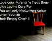 Honor Your Parents                                                                                                           By Sunil Paul